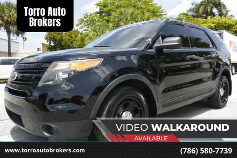 2015 Ford Explorer for sale at Torro Auto Brokers in Miami FL