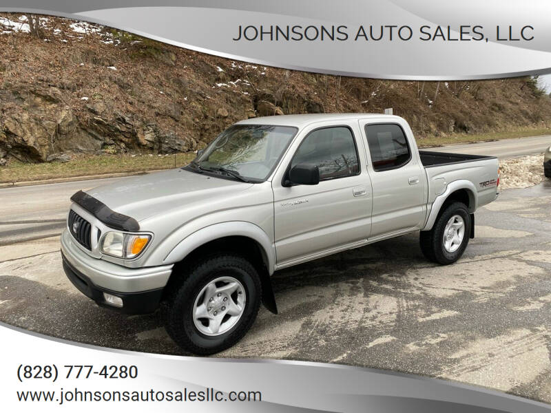 2002 Toyota Tacoma for sale at Johnsons Auto Sales, LLC in Marshall NC