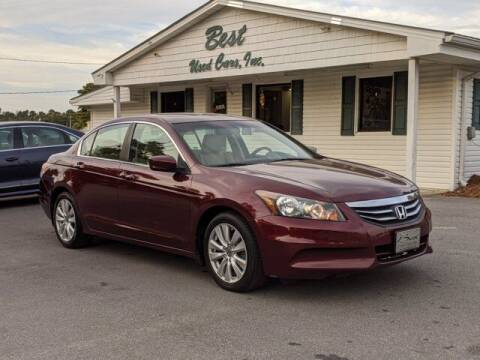 2012 Honda Accord for sale at Best Used Cars Inc in Mount Olive NC