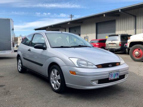 2002 Ford Focus for sale at DASH AUTO SALES LLC in Salem OR