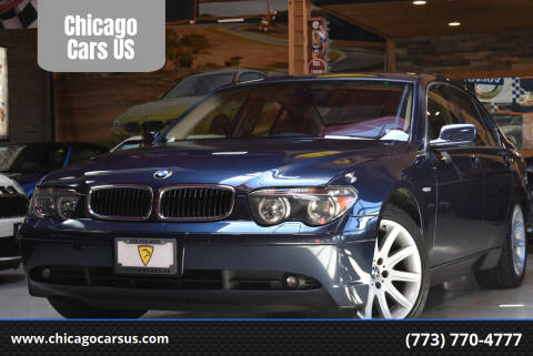 2003 BMW 7 Series for sale at Chicago Cars US in Summit IL