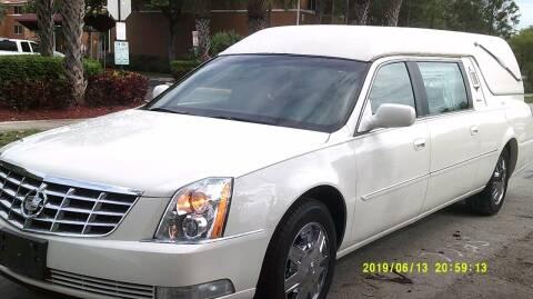 2006 Cadillac Deville Professional for sale at LAND & SEA BROKERS INC in Pompano Beach FL