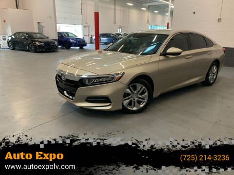 2018 Honda Accord for sale at Auto Expo in Las Vegas NV