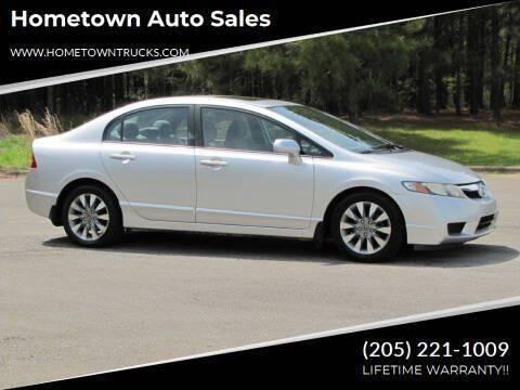 2011 Honda Civic for sale at Hometown Auto Sales - Cars in Jasper AL