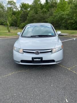 2007 Honda Civic for sale at ONE NATION AUTO SALE LLC in Fredericksburg VA