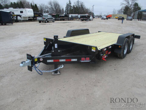 2021 B-B Equipment Tilt TBCT1814EFT for sale at Rondo Truck & Trailer in Sycamore IL