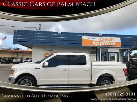 2018 Ford F-150 for sale at Classic Cars of Palm Beach in Jupiter FL