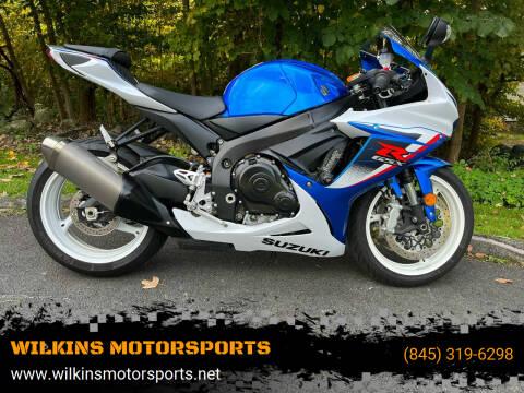 2013 Suzuki GSXR600 for sale at WILKINS MOTORSPORTS in Brewster NY