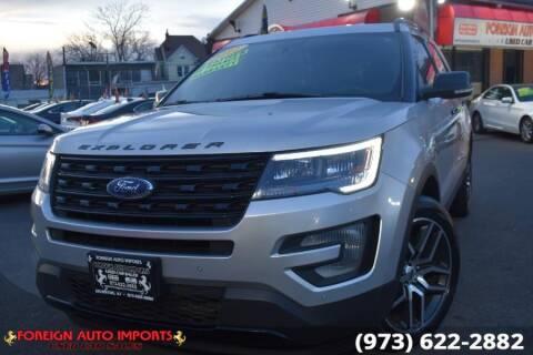 2017 Ford Explorer for sale at www.onlycarsnj.net in Irvington NJ