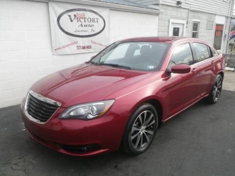 2012 Chrysler 200 for sale at VICTORY AUTO in Lewistown PA