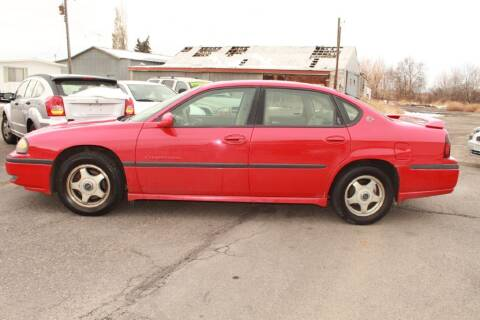 2002 Chevrolet Impala for sale at Epic Auto in Idaho Falls ID