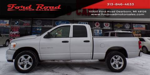 2007 Dodge Ram Pickup 1500 for sale at Ford Road Motor Sales in Dearborn MI