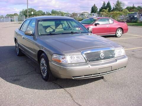 2004 Mercury Grand Marquis for sale at VOA Auto Sales in Pontiac MI