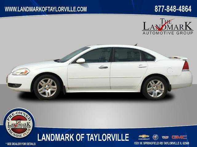 2011 Chevrolet Impala for sale at LANDMARK OF TAYLORVILLE in Taylorville IL