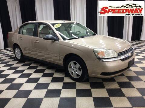 2005 Chevrolet Malibu for sale at SPEEDWAY AUTO MALL INC in Machesney Park IL