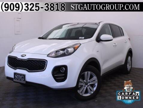 2018 Kia Sportage for sale at STG Auto Group in Montclair CA