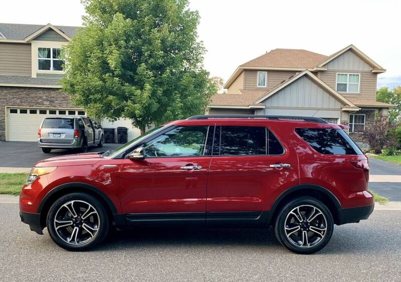2013 Ford Explorer for sale at You Win Auto in Burnsville MN
