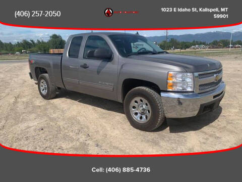 2013 Chevrolet Silverado 1500 for sale at Auto Solutions in Kalispell MT