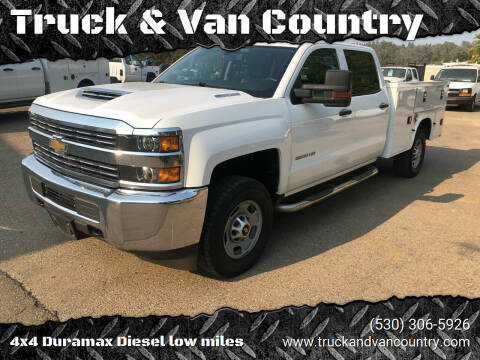 2018 Chevrolet Silverado 2500HD for sale at Truck & Van Country in Shingle Springs CA