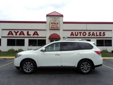 2014 Nissan Pathfinder for sale at Ayala Auto Sales in Aurora IL