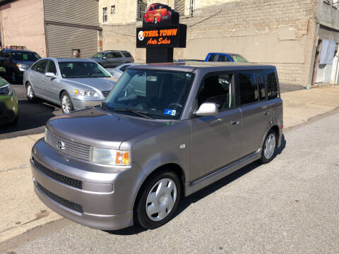 2005 Scion xB for sale at STEEL TOWN PRE OWNED AUTO SALES in Weirton WV