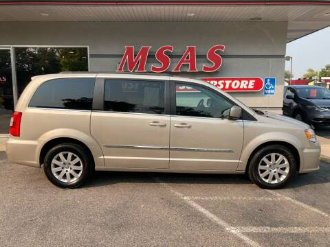 2015 Chrysler Town and Country for sale at MSAS AUTO SALES in Grand Island NE