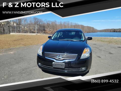 2009 Nissan Altima for sale at F & Z MOTORS LLC in Waterbury CT