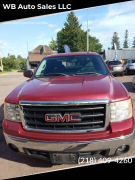2007 GMC Sierra 1500 for sale at WB Auto Sales LLC in Barnum MN