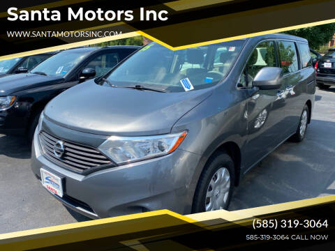 2015 Nissan Quest for sale at Santa Motors Inc in Rochester NY