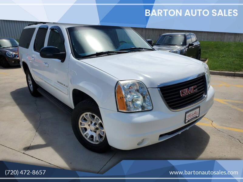 2007 GMC Yukon XL for sale at Barton Auto Sales in Longmont CO