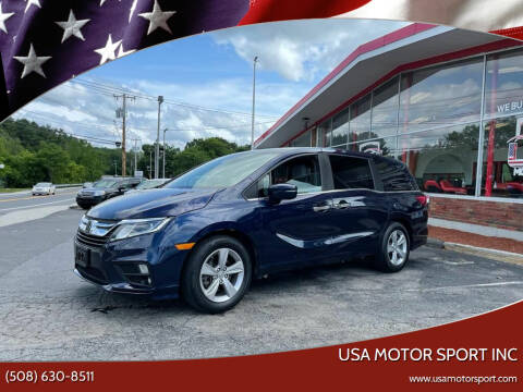 2018 Honda Odyssey for sale at USA Motor Sport inc in Marlborough MA