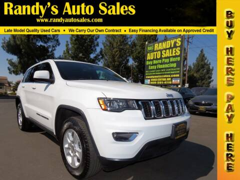 2017 Jeep Grand Cherokee for sale at Randy's Auto Sales in Ontario CA
