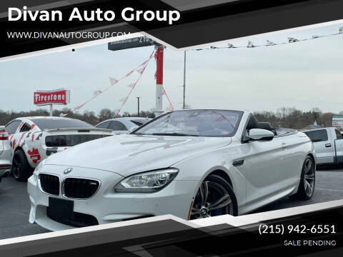 2013 BMW M6 for sale at Divan Auto Group in Feasterville PA