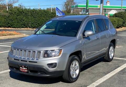 2016 Jeep Compass for sale at RUSH AUTO SALES in Burlington NC