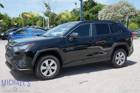 2020 Toyota RAV4 for sale at Michael's Auto Sales Corp in Hollywood FL