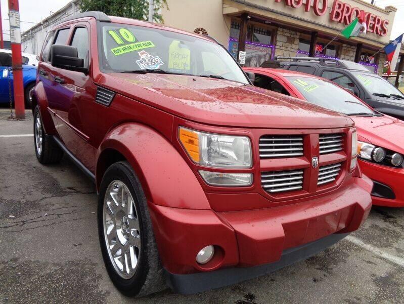 2010 Dodge Nitro for sale at USA Auto Brokers in Houston TX