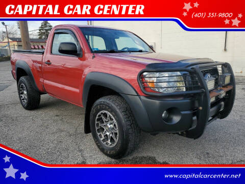 2011 Toyota Tacoma for sale at CAPITAL CAR CENTER in Providence RI