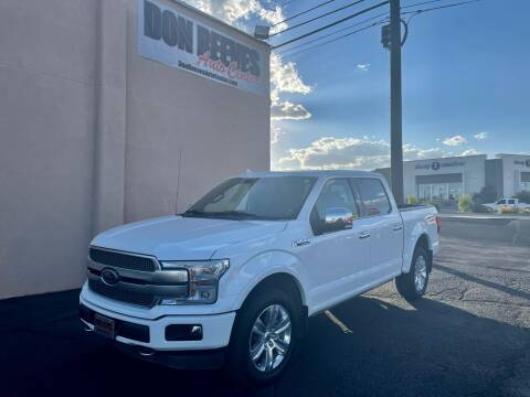 2020 Ford F-150 for sale at Don Reeves Auto Center in Farmington NM