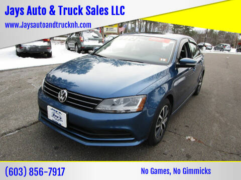 2017 Volkswagen Jetta for sale at Jays Auto & Truck Sales LLC in Loudon NH