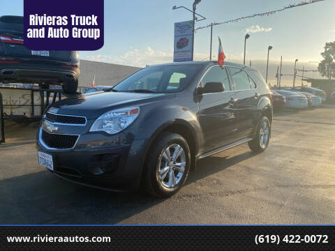 2011 Chevrolet Equinox for sale at Rivieras Truck and Auto Group in Chula Vista CA