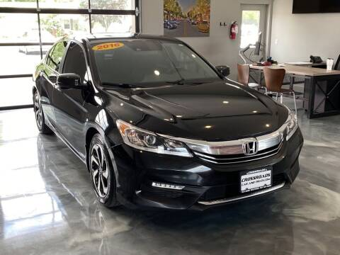 2016 Honda Accord for sale at Crossroads Car & Truck in Milford OH