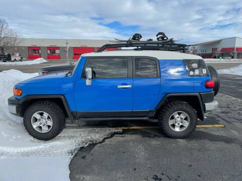 2008 Toyota FJ Cruiser for sale at ALOTTA AUTO in Rexburg ID