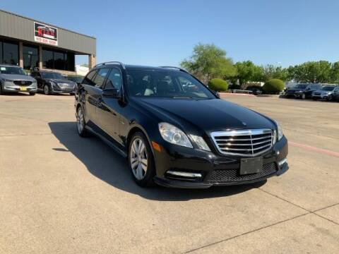 2012 Mercedes-Benz E-Class for sale at KIAN MOTORS INC in Plano TX