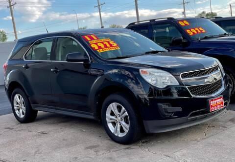 2011 Chevrolet Equinox for sale at SOLOMA AUTO SALES in Grand Island NE
