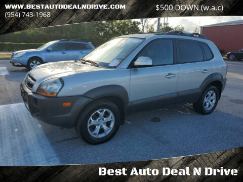 2009 Hyundai Tucson for sale at Best Auto Deal N Drive in Hollywood FL