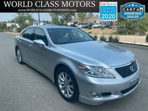 2010 Lexus LS 460 for sale at World Class Motors LLC in Noblesville IN