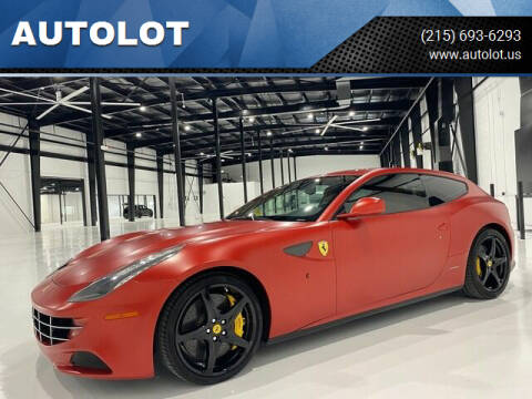 2012 Ferrari FF for sale at AUTOLOT in Bristol PA