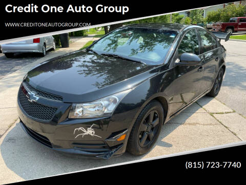 2014 Chevrolet Cruze for sale at Credit One Auto Group in Joliet IL