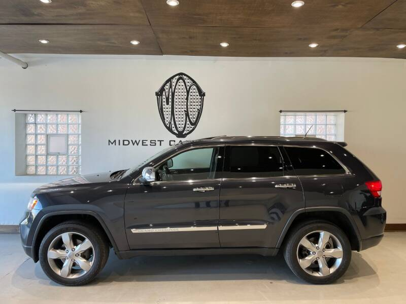 2012 Jeep Grand Cherokee for sale at Midwest Car Connect in Villa Park IL