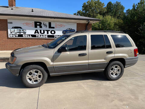 2001 Jeep Grand Cherokee for sale at R & L Autos in Salisbury NC